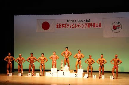 2007年 NBBF全日本オープン優勝(3連覇)【山田義徳】